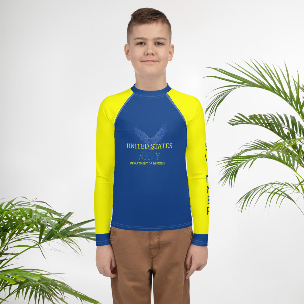 Children Activewear Rash Guard