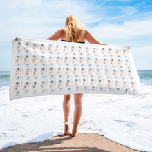Load image into Gallery viewer, Classic Beach  Travel Towel
