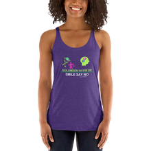 Load image into Gallery viewer, Support teen  health Women's Racerback Tank