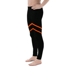 Load image into Gallery viewer, Black Orange Leotard for rhythmic gymnastics