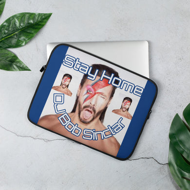 Stay Home With Bob Sinclar Laptop Sleeve