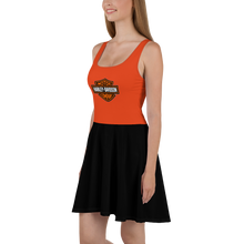 Load image into Gallery viewer, HARLEY 103 Fan skater dress