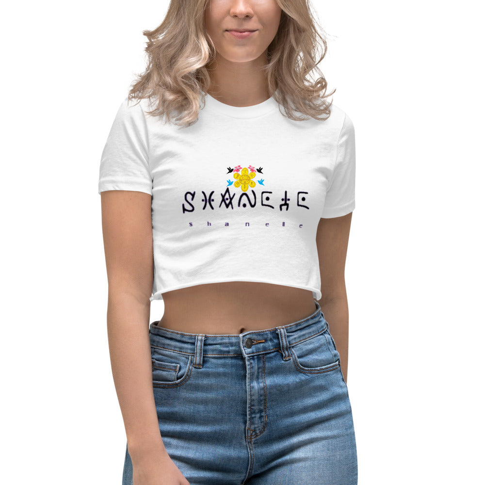 Shanelle Tribal Women's Crop Top