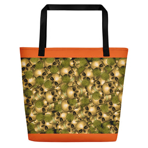 TRAVEL TOTE BAG HALLOWEEN