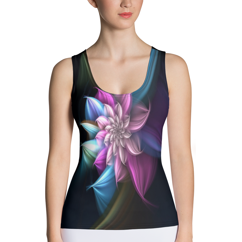 all Over Printed Sublimation Cut & Sew Tank Top
