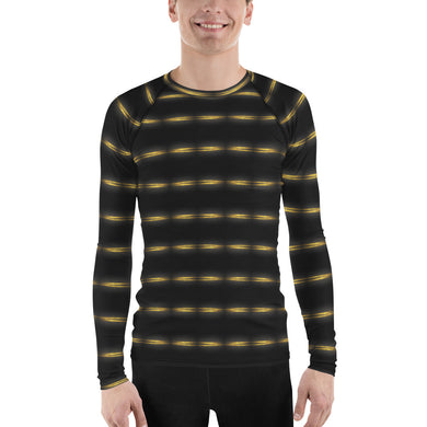 Gold Particles Men's Rash Guard
