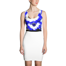 Load image into Gallery viewer, NEW COUTURE BODY FITTED FLORAL DAISY DRESS CANADA, EUROPE