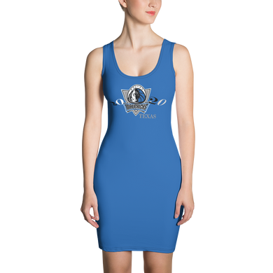 Mavericks 2021 Dallas Symmetrical Sew Dress