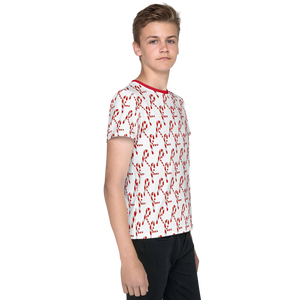All over printed Christmas Youth T-Shirt