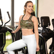 Load image into Gallery viewer, USAF Camo Sports bra