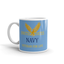 Load image into Gallery viewer, Thank You for your Service Veteran Mug