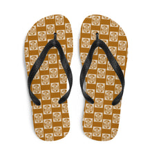 Load image into Gallery viewer, Toffee Design Flip-Flops