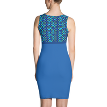 Load image into Gallery viewer, GEO 345 Scale Symmetrical Dress