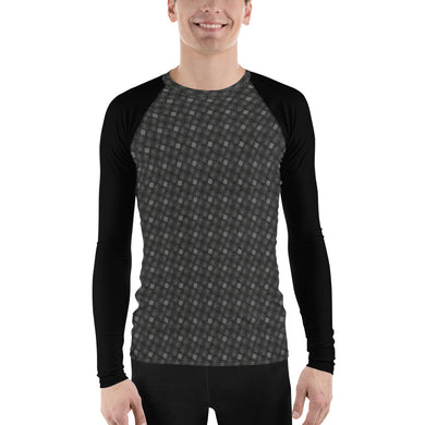 Grey Mesh Men's Rash Guard