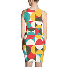 Load image into Gallery viewer, GEO 16 RETRO SYMMETRICAL DRESS