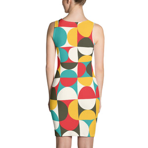 GEO 16 RETRO SYMMETRICAL DRESS