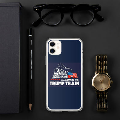 Contact Us on The Trump Train iPhone Case