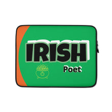 Load image into Gallery viewer, Irish Poet Dell Chromebook / Apple Mac Laptop Sleeve
