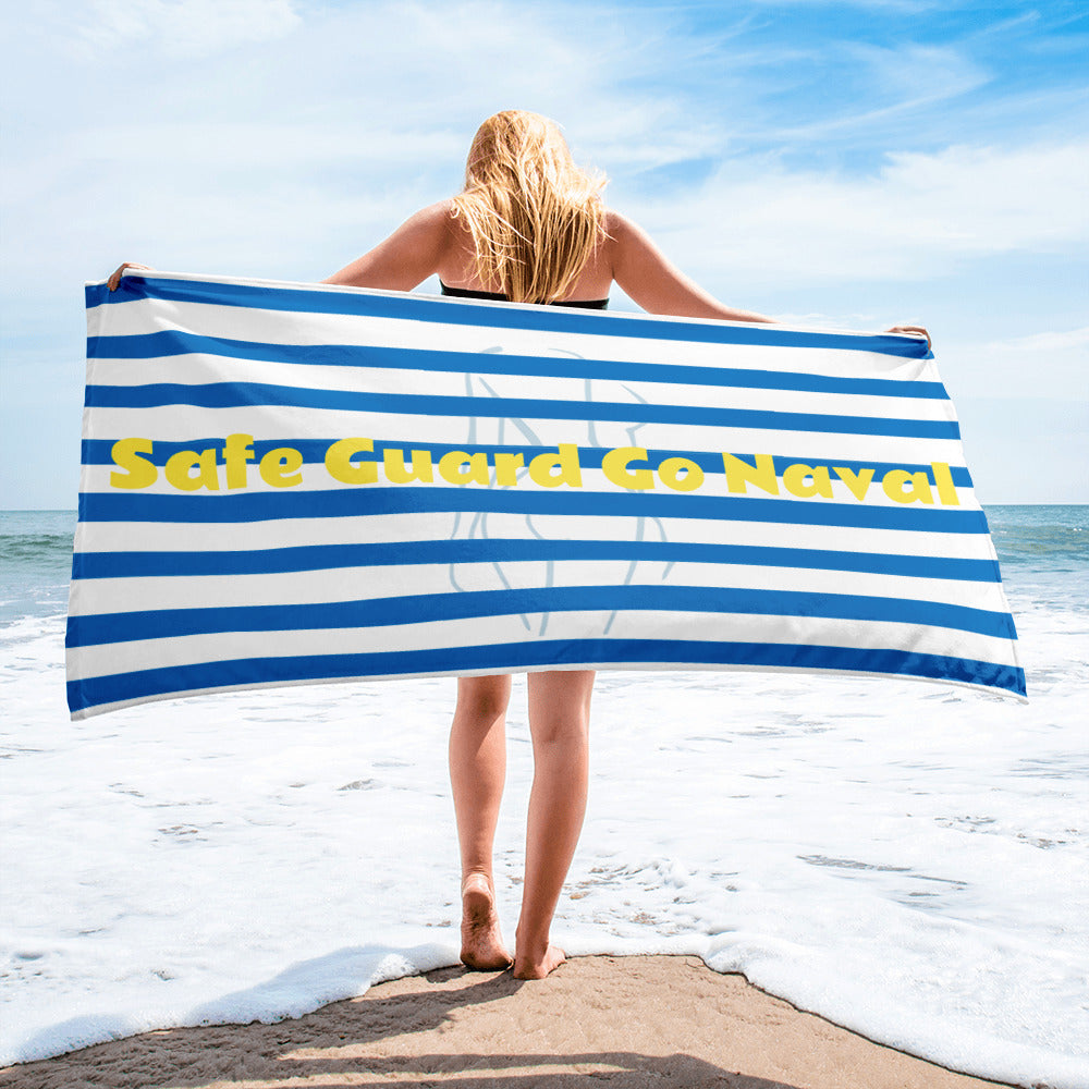 Classic Beach  Travel Towel