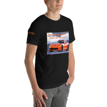 Load image into Gallery viewer, Custom printed activewear t-shirt