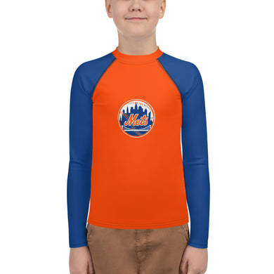 Mets Fan Youth Rash Guard