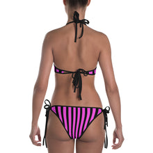 Load image into Gallery viewer, Hot Pink Pin Stripe Bikini