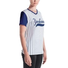 Load image into Gallery viewer, New York Yankee Baseball Fans Women's V-neck