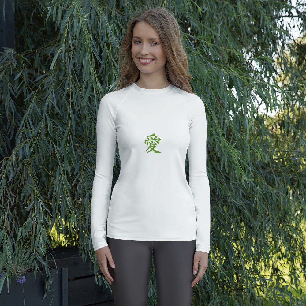 versatile long-sleeve rash guard