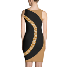 Load image into Gallery viewer, GEO 8 Cafe Con Leche Sublimation Cut & Sew Dress