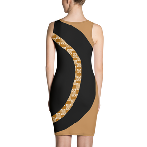 GEO 8 Cafe Con Leche Sublimation Cut & Sew Dress