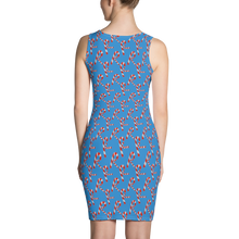 Load image into Gallery viewer, GEO 25 Christmas Symmetrical Dress