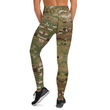 Load image into Gallery viewer, USAF CAMO Yoga Leggings