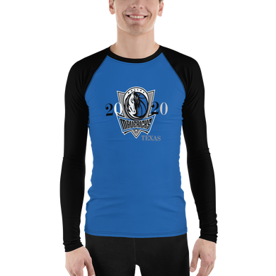 Mavericks Dallas 2021 Men's Rash Guard