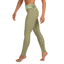 Load image into Gallery viewer, Egyptian Temple Dance Yoga Leggings