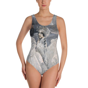 Russian Swan Princess One-Piece Swimsuit