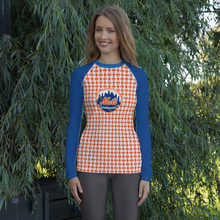 Load image into Gallery viewer, Mets Fan Rendition Women's Rash Guard Limited Edition