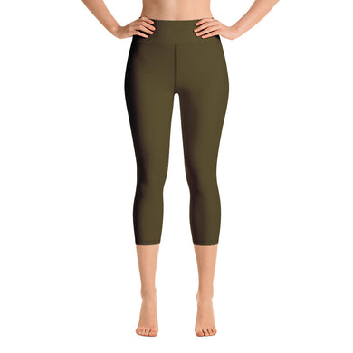 USAF TOFFEE Yoga Capri Leggings