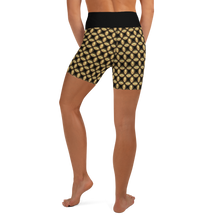 Load image into Gallery viewer, Jersey Shore Golden Global Yoga Shorts