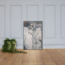 Load image into Gallery viewer, SWAN PRINCESS CANVAS PRINT