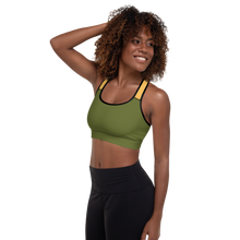 Load image into Gallery viewer, All Over Printed Active Sportswear Padded Sports Bra