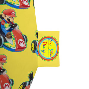 Mario Brothers Chair All-Over Print Bean Bag Chair w/ filling