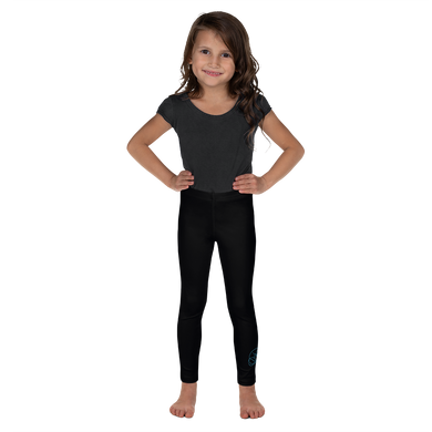 Black kitty Kid's Leggings