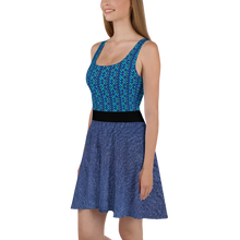 Load image into Gallery viewer, SKATE 954 Shale Skater Dress