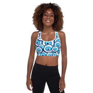 It 'Sounds Greek to me Padded Sports Bra
