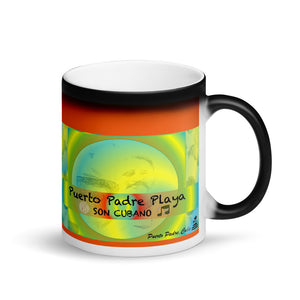 Matte Black Magic Mug Novelty Collectables