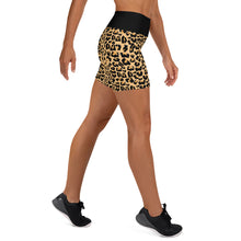 Load image into Gallery viewer, Susie Leopardism yoga Shorts