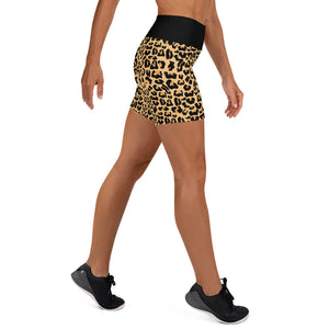 Susie Leopardism yoga Shorts
