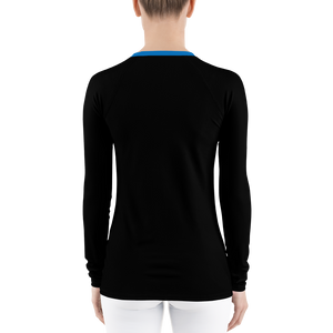 Midnight blue urban rash guard