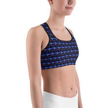Load image into Gallery viewer, Purple Rain Sports bra