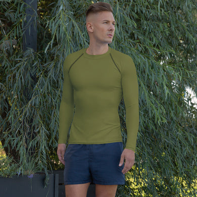 USAF Olive Green Men's Rash Guard